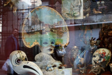 Venice Masks - Aspects of Reflection ~ PSandsPhotos
