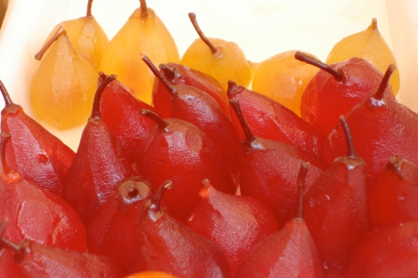 Candied Pears~Nice Market-PSandsPhotos