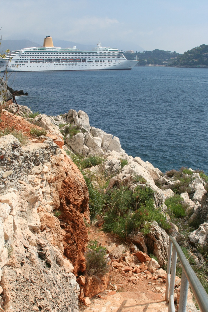 Would you hike the path or cruise the seas ...