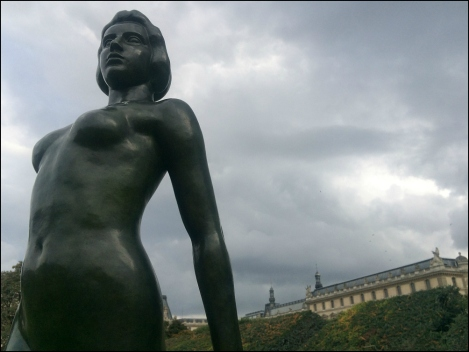 Ile-de-France by Aristide Bonaventure Maillol (Photograph by Theadora Brack)